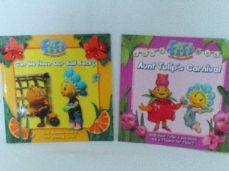 Adorable Set 1 of Two 'Fifi & the Flowertots' Glossy Bedtime Story Books